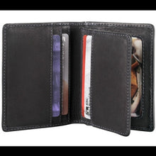 Load image into Gallery viewer, Leather Men's Wallet Show Card with Center Wing (DR-8208)