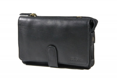 Leather Organizer Full Flap with Tab Closure (FB-2163)