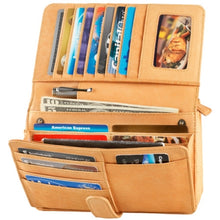 Load image into Gallery viewer, Leather Organizer Full Flap with Tab Closure (FB-2163)