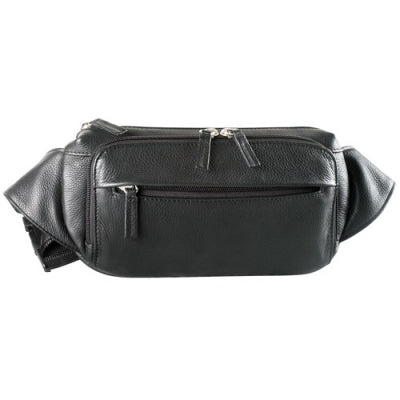 Leather Waist Pack 4 Pocket Organizer (FN-9010)