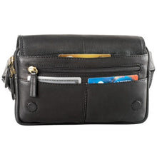 Load image into Gallery viewer, Leather Waist Pack Top Zip (FN-9009)