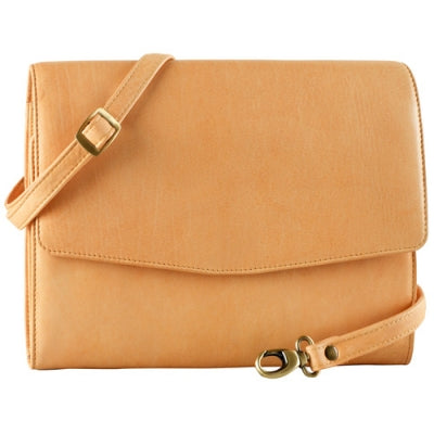 Flap Front Tablet Sleeve and Organizer with Shoulder Strap (PB-8103)