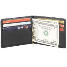 Load image into Gallery viewer, Leather Men's Wallet Bill Clip With Credit Card Slots (CP-8441)