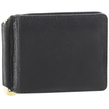 Leather Men's Wallet Bill Clip With Credit Card Slots (CP-8441)