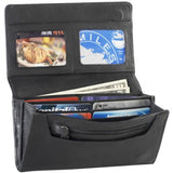 Leather Ladies' Wallet Large Multi-Compartment (CP-8472)