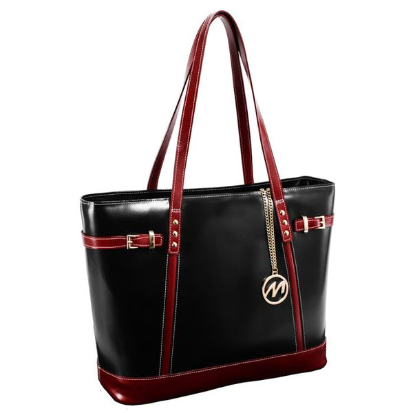 McKlein M Series Seraphina Leather Ladies' Tote with Tablet Pocket