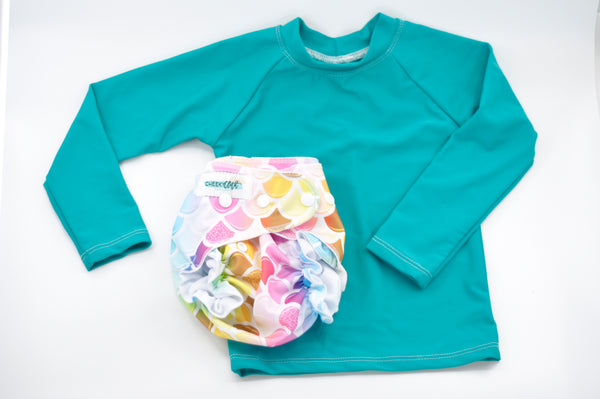 Cheeky Cloth Jade Rashguard