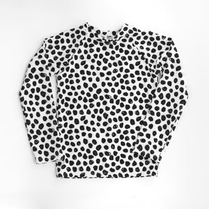 Cheeky Cloth Rashguard Sketch Polka Dot