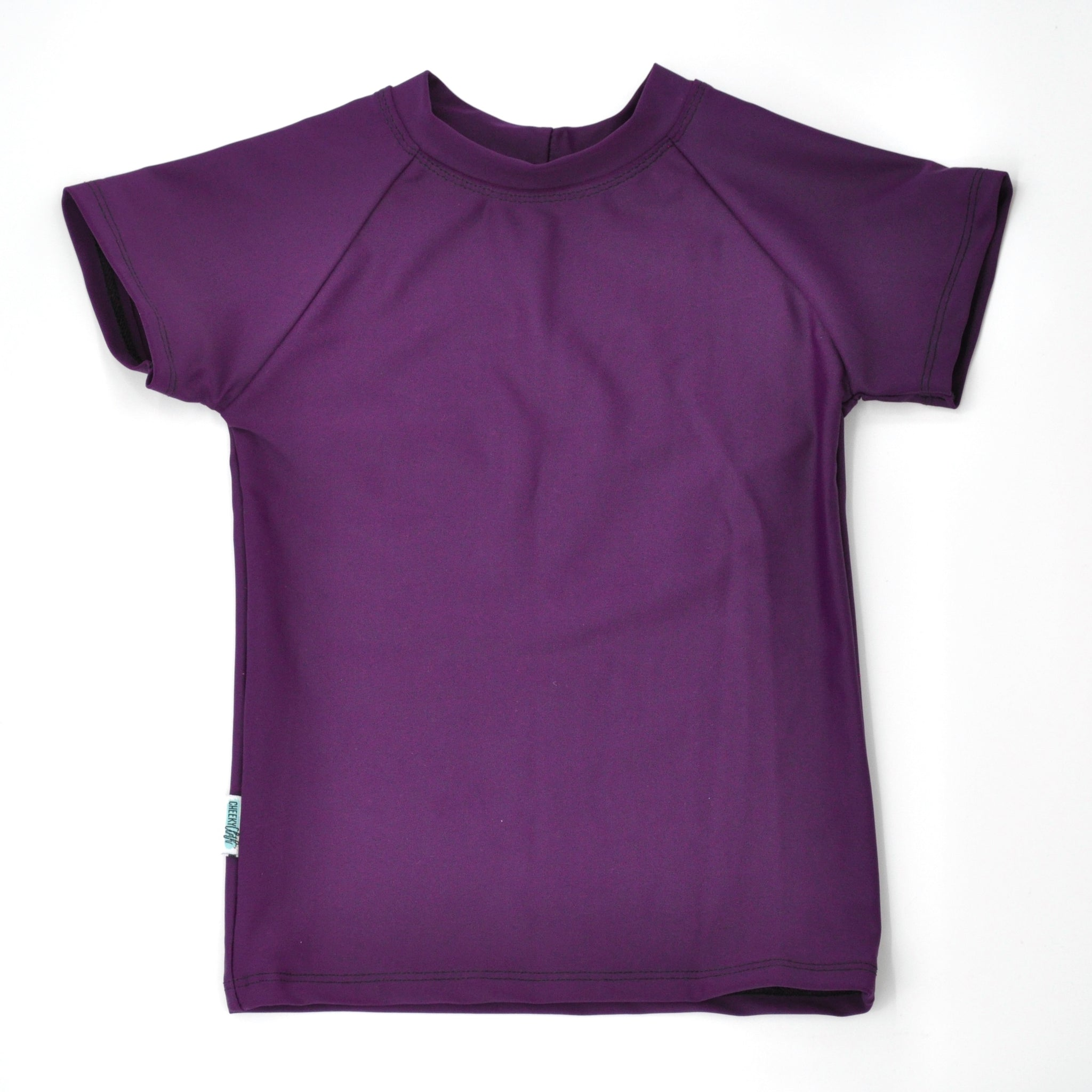 Cheeky Cloth Plum Rashguard