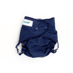 "Cheeky Cloth One Size Reusable Swim Diaper ""Navy"""