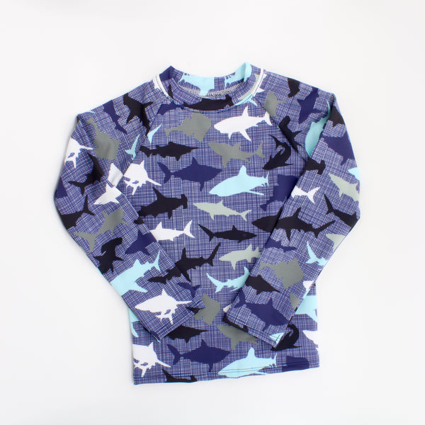 Cheeky Cloth Rashguard Sharks