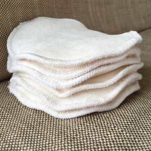 One Pair Organic Bamboo Nursing Pads