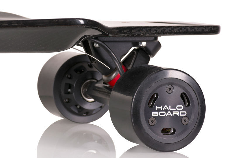 The electric powered Halo skateboard