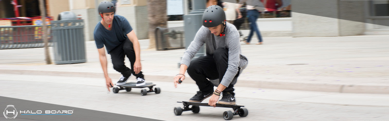 Halo Board electric skateboard cruising Santa Monica 2017
