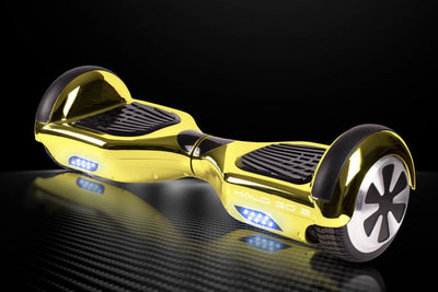"Halo Go 2 Hoverboard 6.5"" - Chrome Gold - Halo Board"