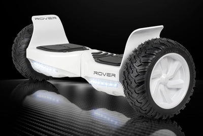 "Official Halo Rover Hoverboard 8.5"" - White Edition - Halo Board"