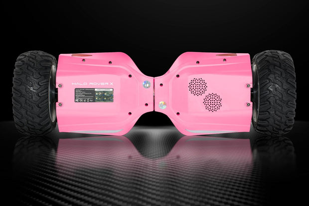 "Official Halo Rover X Hoverboard 8.5"" - Pink Edition - Halo Board"