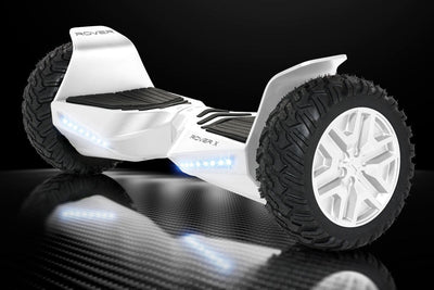 "Official Halo Rover X Hoverboard 8.5"" - White Edition - Halo Board"