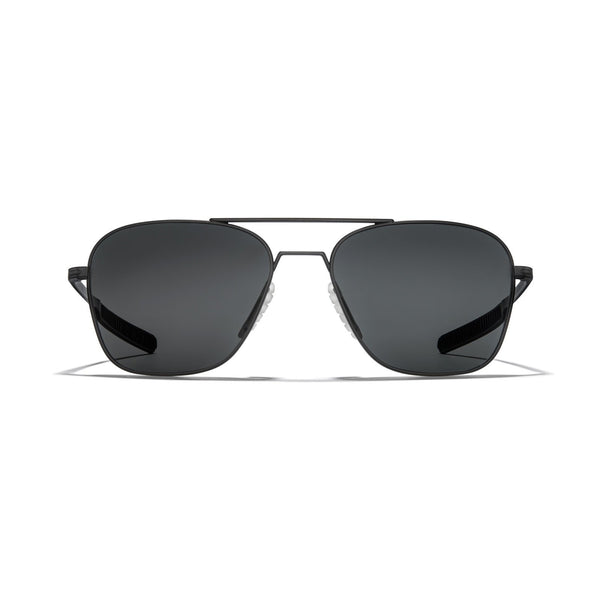 Matte Black Frame - Dark Carbon (Polarized) Lens