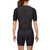 Women's Gen II Elite Aero Short Sleeve Tri Suit - Back View on Athlete - Fastest Women's Tri Suit