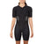 Women's Gen II Elite Aero Short Sleeve Tri Suit - Front View on Athlete - Fastest Women's Tri Suit