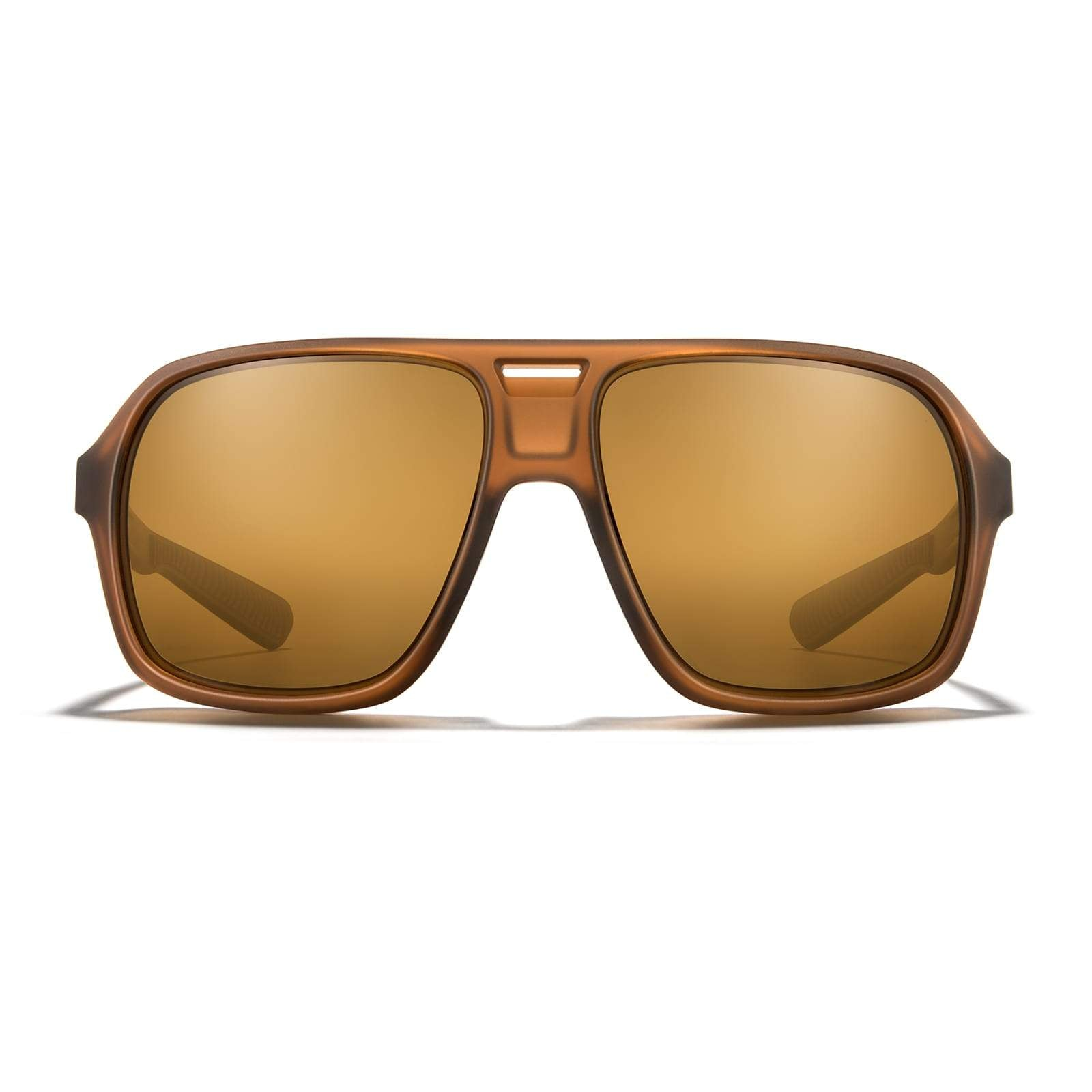 Matte Root Beer Frame - Bronze (Polarized) Lens
