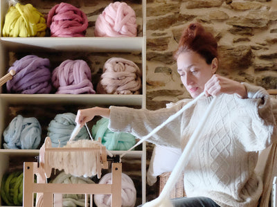 Story of one giant merino blanket.