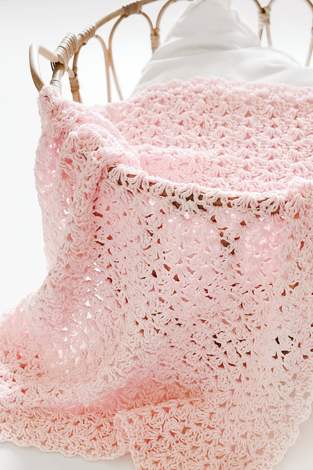 Crochet Pattern: Gracy Baby Blanket, P023
