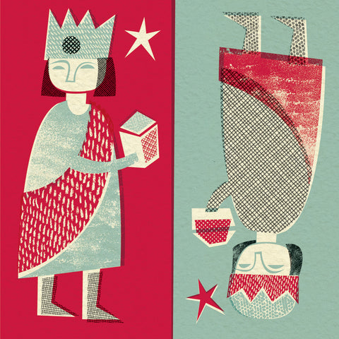 Midwinter range of greetings cards by Pennychoo