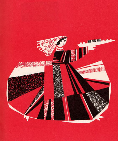 Czeslaw Wielhorski's illustrations for a Polish cookbook by Zofia Czerny, 1961