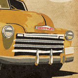 'Great Pickup' Chevy Truck Birthday Card