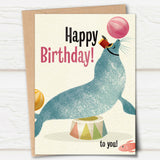 Big Top Words: Birthday Sealion