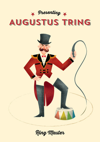Big Top A4 Print: Ring Master