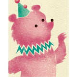 Big Top Minis: Unicycle Bear
