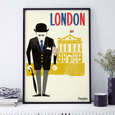 Capital Prints: City Gent
