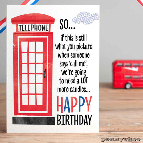 Capital Birthday: Telephone Box