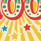 Circus Celebration 100th Birthday Card
