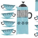 2  x Sheets of Wrapping Paper: Coffee Pots – now £2
