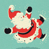 Stunt Santa Christmas Card, 5