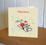 Snow Business Christmas Card, 9