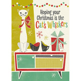Honey, It's Christmas! Sideboard Cat
