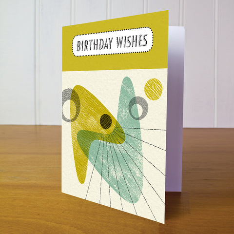 Lanyon Birthday Card