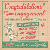 Matchbook Donut Engagement Card