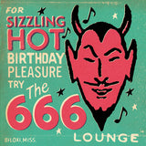 Matchbook 'Sizzling Hot' Birthday Card