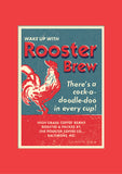 Rooster Brew Coffee Print, Ready to Frame in A3 Mount