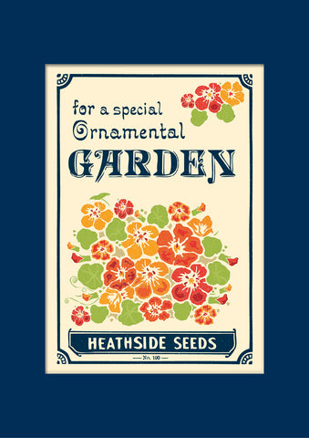 Matchbook A4 Print + A3 Mount: Seed Packet