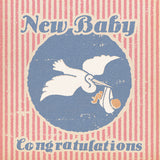 Matchbook New Baby Card – Pink/Blue