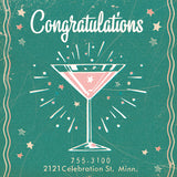 Matchbook Congratulations Card