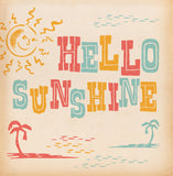 Matchbook 'Hello Sunshine' Card