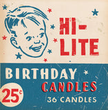 Matchbook Birthday Card